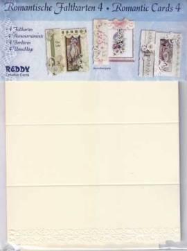 Reddy Creative Cards- Romantische Faltkarten 4 - 010347 - Bild vergrößern