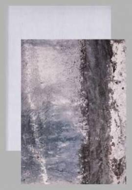 Reddy-Cards-Kartenkarton-010614-Vintage-Steinputz-blau-geprägt-ca.250g/m² - Bild vergrößern