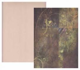 Reddy-Cards-Kartenkarton-010630-Vintage-Ornamente-geprägt-ca.250g/m² - Bild vergrößern
