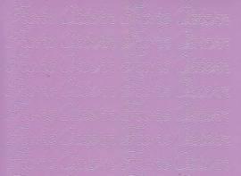 Zier-Sticker-Bogen-Frohe Ostern-flieder-0480Nfl - Bild vergrößern