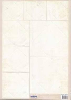 Stanzbogen - Reddy -100664- Mini-Umschläge - Pergamentoptik, creme - Bild vergrößern