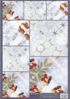 Stanzbogen - Reddy -100673- Mini-Umschläge - Weihnachten - Bild vergrößern