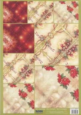 Stanzbogen - Reddy -100674- Mini-Umschläge - Weihnachten - Bild vergrößern