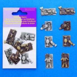 Scrapbook Basics - Metall -für besondere Anlässe-4007 - Bild vergrößern