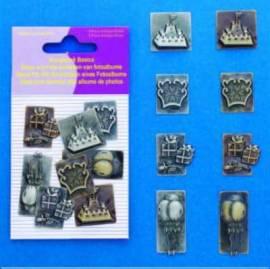 Scrapbook Basics - Metall -für besondere Anlässe-4008 - Bild vergrößern