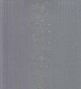 Zier-Sticker-Bogen -Ränder / Bordüren / Ecken-geprägt-matt/silber-2036ms - Bild vergrößern