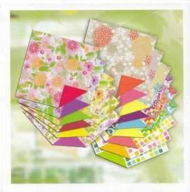 Ursus-Faltblätter ,,Fancy Paper''- 15cm x 15cm-30 Blatt-2955599 - Bild vergrößern