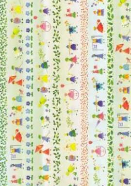 Vario Karton-Motivkarton-7297-00-Blumenkinder-300g/qm - Bild vergrößern