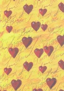 Vario Karton-Motivkarton-7537-00-Love-300g/qm - Bild vergrößern