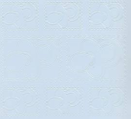 Zier-Sticker-Bogen-Babymotive-Schnuller-Briefmarke-h.blau-3201h.bl - Bild vergrößern