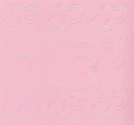 Zier-Sticker-Bogen-Babymotive-Schnuller-Briefmarke-rosa-3201ro - Bild vergrößern