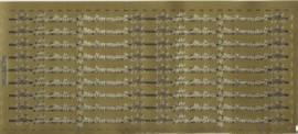 Zier-Sticker-Bogen-Herzlichen Glückwunsch-als Rand-330g - Bild vergrößern
