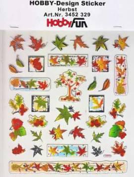 Hobby Design Sticker - HobbyFun 329- Herbst - Bild vergrößern
