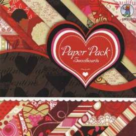 Ursus-Paper Pack-Motiv-Kartenpapier/Karton- Sweethearts -20 Blatt-4164 - Bild vergrößern