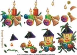 3D Bogen-Etappenbogen-Kerzen und Laterne-416907 - Bild vergrößern