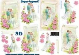 3D Bogen Brautpaare-4169256 - Bild vergrößern