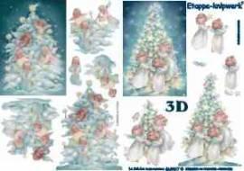 3D Bogen-Etappenbogen-Engel schmücken den Baum-4169317 - Bild vergrößern