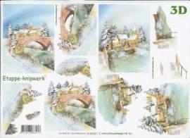3D Etappen-Bogen-Dorf am Fluss-4169321 - Bild vergrößern