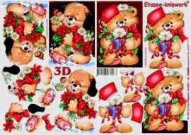 3D Bogen--Etappenbogen-Weihnachtsbärchen-4169544 - Bild vergrößern