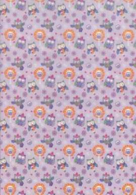 Marpa Jansen-Transparentpapier Nobless-7717-00-Winter Eulen - Bild vergrößern