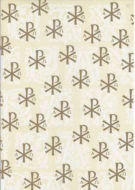 Marpa Jansen-Transparentpapier Nobless-8246-98-Christliche Motive-Pax-gold - Bild vergrößern