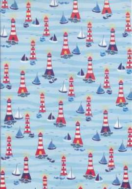 Marpa Jansen-Transparentpapier Nobless-8266-00-Leuchtturm - Bild vergrößern