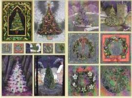 Dufex-Sticker-Bogen-Tannenbäume-gravierte Motive-Alu-beschichtetes Papier-731730 - Bild vergrößern