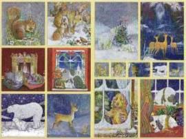 Dufex-Sticker-Bogen-Wintertiere-gravierte Motive-Alu-beschichtetes Papier-732430 - Bild vergrößern