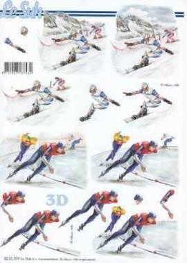 3D Etappen-Bogen-Eislauf- 8215709 - Bild vergrößern