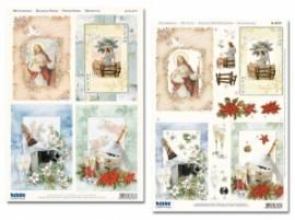 3D Stanzbogen-Set -Reddy-83737-Jesus und Sylvester - Bild vergrößern