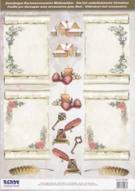 Stanzbogen - Reddy -85038- Karten-Accessoires-Pergamentrollen - Bild vergrößern