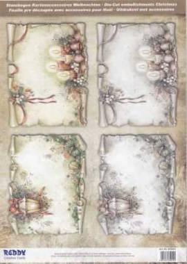 Stanzbogen - Reddy -85044- Karten-Accessoires-Pergamentpapiere - Bild vergrößern