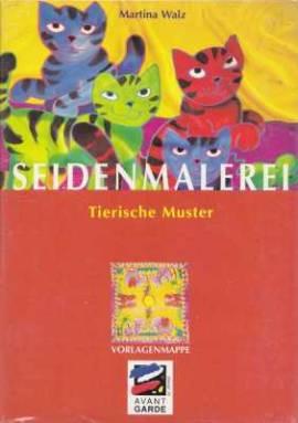 Seidenmalerei-Vorlagenmappe-Tierische Muster-Martina Walz-8 Motive-94422 - Bild vergrößern