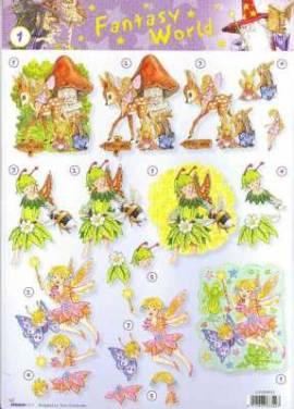 3D Etappen-Bogen-Fantasy World-Blumenelfen-StudioLight-FW 01 - Bild vergrößern
