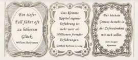 Gravur-Sticker-Bogen-GR 0013trg-Texte-Verse von Dichtern -transparent-gold - Bild vergrößern
