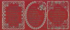 Gravur-Sticker-Bogen-GR 0033rg-Texte-Weihnachten -rot-gold - Bild vergrößern