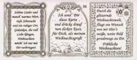 Gravur-Sticker-Bogen-Texte-Weihnachten -transparent-gold-GR 036trg - Bild vergrößern