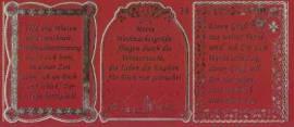 Gravur-Sticker-Bogen-GR 0038rg-Texte-Weihnachten -rot-gold - Bild vergrößern