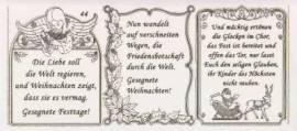 Gravur-Sticker-Bogen-GR 0044trg-Texte-Weihnachten -transparent-gold - Bild vergrößern