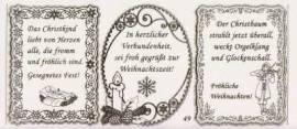 Gravur-Sticker-Bogen-Texte-Weihnachten -transparent-gold-GR 049trg - Bild vergrößern