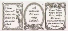 Gravur-Sticker-Bogen-Texte-Geburtstag / Freundschaft-transparent-gold-GR 089trg - Bild vergrößern
