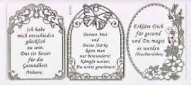 Gravur-Sticker-Bogen-Texte-Herzliche Genesungswünsche-transparent-gold-GR 3950trg - Bild vergrößern