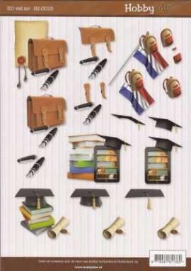 3D Etappen-Bogen-HI 0015-Etappenbogen-Schule-Prüfung - Bild vergrößern