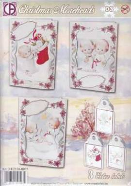 Creatief Art-Kartenset - Christmas Moreheads 03 - Bild vergrößern
