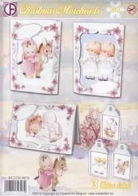 Creatief Art-Kartenset - Christmas Moreheads 04 - Bild vergrößern