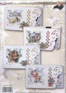 Creatief Art-Kartenset - A Christmas Story 02 - Staf Wesenbeek -SWK-850081 - Bild vergrößern