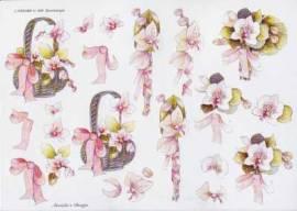 3D Etappen-Bogen-Orchidee rosa-Wekabo-688 - Bild vergrößern
