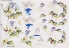 3D Bogen-Etappenbogen-Blumenkinder-Marieke's Design-699 - Bild vergrößern