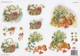 3D Etappen-Bogen-Wekabo 758-Herbstlicher Korb - Bild vergrößern