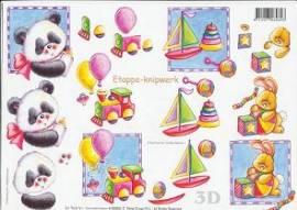 3D Etappen-Bogen Spielzeug/Jungen-416950 - Bild vergrößern